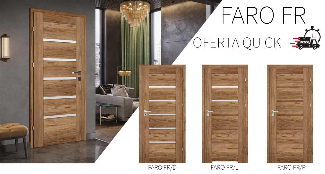 Drzwi Faro FR - oferta QUICK